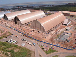 Novo terminal no Maranhão embarca mais de 2 milhões de toneladas no mês