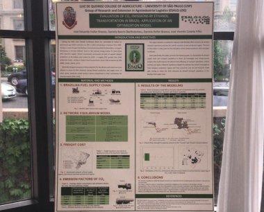 Trabalhos desenvolvidos pelos pesquisadores do Grupo ESALQ-LOG são apresentados em fórum internacional do agronegócio na cidade de Washington