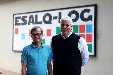 Professor de Illinois visita sede do Grupo ESALQ-LOG