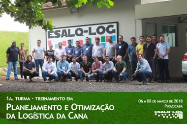 Treinamento de Otimização da Logística da Cana apresentou ferramentas para o planejamento do setor sucroenergético