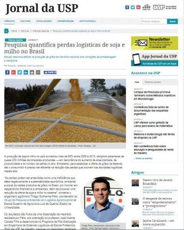 Pesquisa quantifica perdas no transporte e armazenagem de soja e milho no Brasil