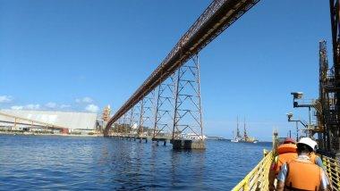 Comitiva dos EUA visita portos do Arco Norte