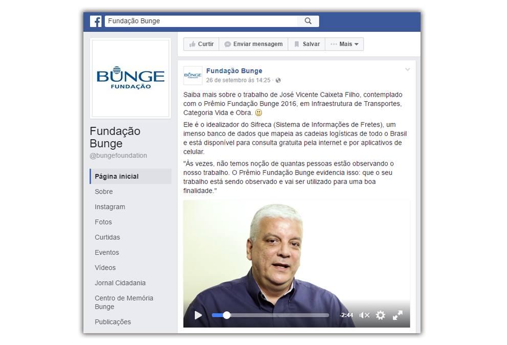 Coordenador do ESALQ-LOG é destaque pelo prêmio Fundação Bunge
