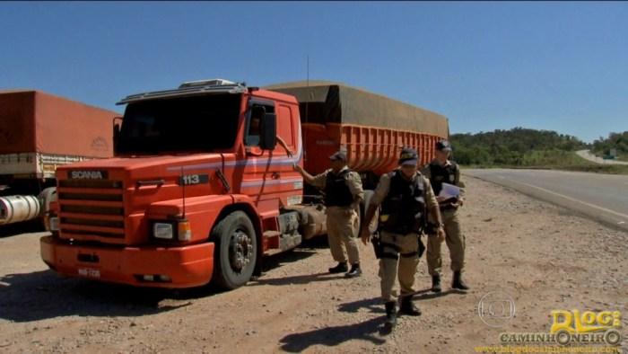 Policiais apelam para o 'olhômetro' para fiscalizar carga no Mato Grosso